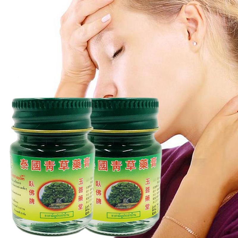 Crema Herbal para el pecho, ungüento para el dolor de cabeza