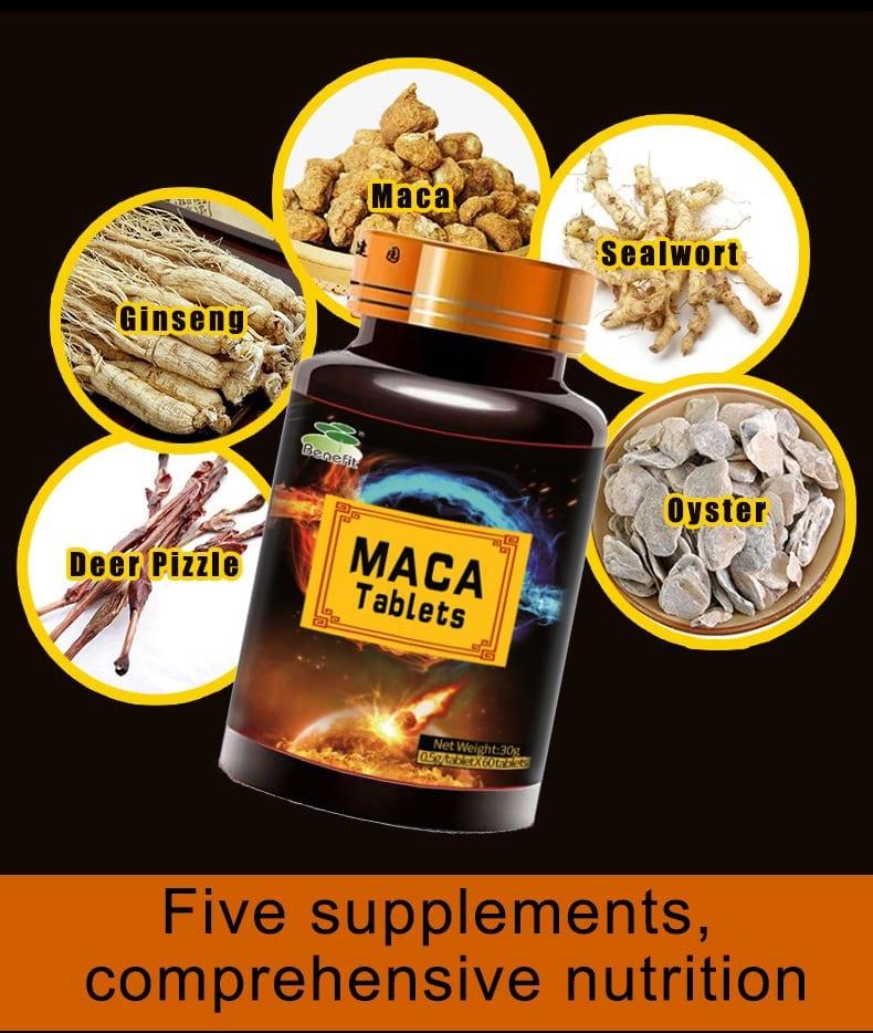Extracto de raíz de Maca negra, para mejorar la salud y fuerza física