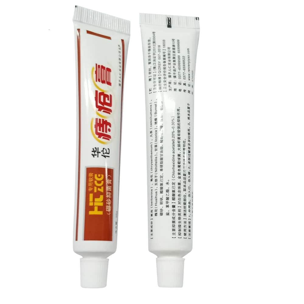 Crema de hiervas para aliviar las hemorroides, Ifory 3 unids