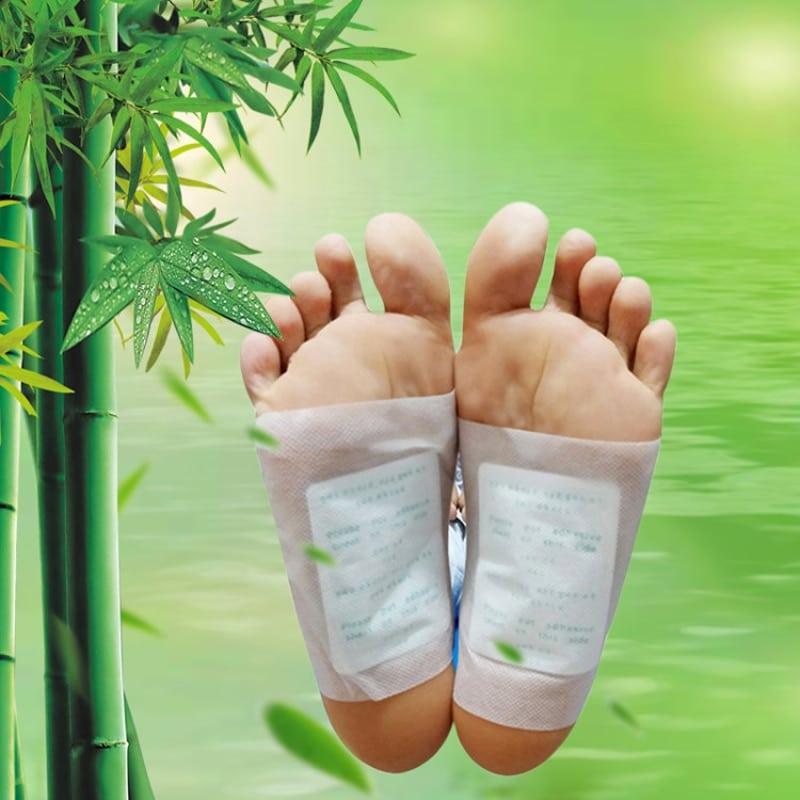 Parches de desintoxicación para pies, almohadillas Artemisia Argyi