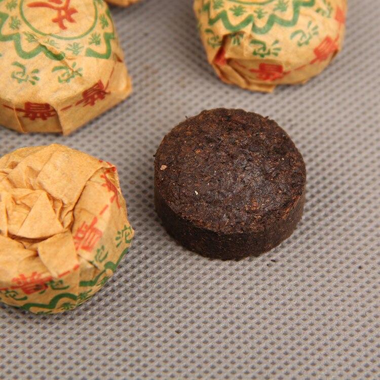 Té para la pérdida de peso, 2010 Original, Pu-erh Tuo cha cocida, Yunnan Mini TuoCha